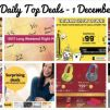 BQ's Daily Top Deals: Long John Silver's Coupons, Jetstar Long Weekend Package, Scoot to Taiwan from $99, Takashimaya Christmas Toy Fair, OG 20% OFF, SQ Exclusive Maybank Fares & More!