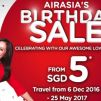 AirAsia: Birthday Sale to Bali, Cebu, Kuching, Phuket and more from just $5