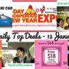 BQ's Daily Top Deals: Save Up to $10 on Taxi Rides, 3-Day Prosperity New Year Expo Fair by Megatex, New McDonald's Golden Prosperity Burger + Limited Edition Red Packets, 88 Cents for Whole Chicken at Giant & More!