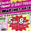 Best Denki: New Hillion Mall Outlet Opening Promotions with Special Daily Deals & 8% OFF with Cash/NETS Payment!