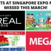 Top Events at Singapore Expo Not to be Missed this March!