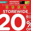 Watsons: Enjoy STOREWIDE 20% OFF with minimum $38 spend online & in stores!