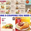 All the Dining E-Coupons in Singapore You Need to Save Now from Burger King, Jollibee, KFC, Popeyes & More! – May/June Version