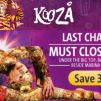 Sistic: Enjoy 30% OFF on Cirque du Soleil's KOOZA Tickets!
