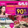 Sasa: Warehouse Sale with Up to 90% OFF Beauty Products