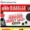 [Qoo10] GSS Fabulous Secret Sale! Last Chance To Get Your Favourite Beauty & Fashion Deals Here! >