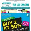 [Watsons] 😱 Watsons Brand Day! 2 for 50% Off! 🛍