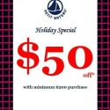 Petit Bateau   $50 off with every $200 purchase