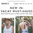 [FOREVER 21] What to wear this vacay season