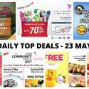 BQ's Daily Top Deals: $20 OFF Entry to Singapore Zoo & River Safari, RB Warehouse Sale, Singapore Food Expo 2017, HDB Community Week 2017 & More!