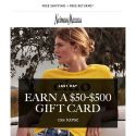 [Neiman Marcus] Last day! $50-$500 gift card for your next shopping spree