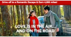 [AVIS] Drive off to a Romantic Escape with Avis and Earn 4,000 KrisFlyer miles!