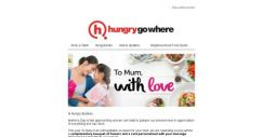 [HungryGoWhere] Surprise & Delight Your Mum With A Complimentary Bouquet of Flowers