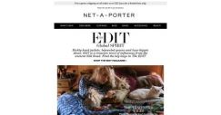 [NET-A-PORTER] Modern luxe-bohemia buys in The EDIT