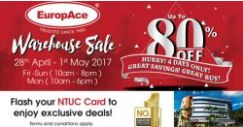 EuropAce: Warehouse Sale with Up to 80% OFF Home Appliances