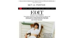 [NET-A-PORTER] Chic vacation buys and styling tips in The EDIT