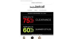 [Last Call] We're unlocking an EXTRA 50%-75% off clearance & 20%-60% off everything else… You made it
