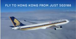 Singapore Airlines: Travel to Hong Kong From Just SGD188 All-in!