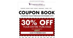 [FragranceNet] ★ Important message! Your email exclusive COUPON BOOK is inside!