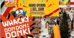 Don Don Donki: NEW Japanese Discount Store's Grand Opening on 1st December!