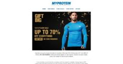 [MyProtein] [ENDS MIDNIGHT] ⚡ 12/12 Flash Sale ⚡ Up to 70% Off Everything!