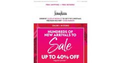 [Neiman Marcus] 40% off dresses + FREE rush delivery!