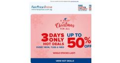 [Fairprice] Last 3 Days: Hot Deals Up To 50% Off!