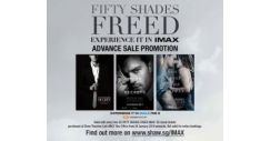 [Shaw Theatres] IMAX tickets for FIFTY SHADES FREED are now on sale!