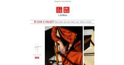 [UNIQLO Singapore] The concept of redefining..
