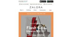 [Zalora] ⏳ 3-Hour FLASH SALE: Extra 18% Off Sitewide!