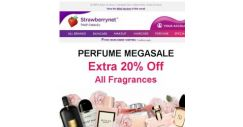[StrawberryNet] , Extra 20% Off ALL Perfume Sitewide!
