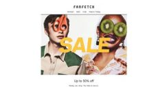 [Farfetch] The Sale is here | Up to 50% off