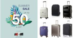 Samsonite: Annual Summer Sale with Up to 50% OFF Selected Luggage & Bags In Stores & Online