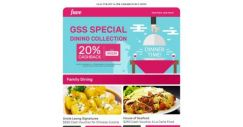 [Fave] 20% Cashback With House of Seafood, Kushi Sushi, Uncle Leong Signatures & more!