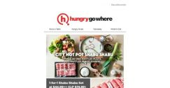 [HungryGoWhere] 1 for 1 Shabu Shabu Set at $44.99++ (U.P $74.98) – Hearty Treat by City Hot Pot Shabu Shabu
