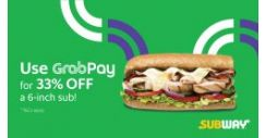 GrabPay: Enjoy Great Savings with GrabPay this June at Subway, The Soup Spoon, Simply Wrapps & BreadTalk!