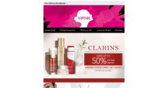 [SaSa ] 【Clarins】NEW items just landed & Hot items 50% Off!