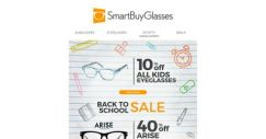 [SmartBuyGlasses] Go back in style with Back to School sales! Great eyewear deals for students of all ages 🏫