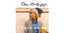 [Miss Selfridge] The most autumny print we absolutely LOVE