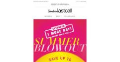 [Last Call] You got it >> 1 more day >> up to 75% off