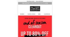[Saks OFF 5th] Repetto on your mind? + Up to 80% off goes with everything