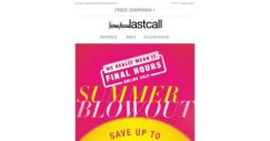 [Last Call] Final, final: up to 75% off EXPIRING