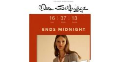 [Miss Selfridge] 🍁Up to 30% off AW18 ends tonight 🍁