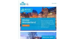 [KLM] Check out our winter destinations on sale from SGD 877!