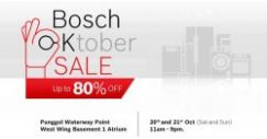 Bosch: Oktober Sale with Up to 80% OFF Bosch Home Appliances