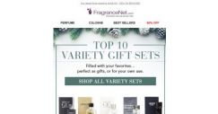 [FragranceNet] Top 10 Gifts Sets for Everyone on Your List (including YOURSELF)