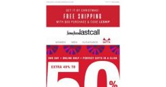 [Last Call] 1 DAY ONLINE: extra 40%–50% off ENTIRE SITE
