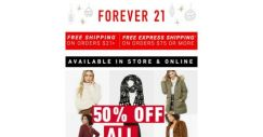 [FOREVER 21] The Winter Haul: 50% OFF