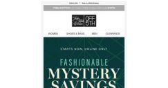 [Saks OFF 5th] Your Schutz item is waiting! + Surprise! We have mystery savings inside…