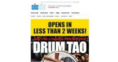 [SISTIC] Drum Tao – Rhythm of Tribe opens in less than 2 weeks! Don't miss it!